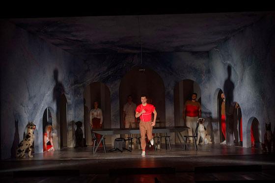Hamlet Schauspiel von William Shakespeare Premiere 7. Dezember 2019, Stadttheater Rendsburg Mit Christian Hellrigl und Ensemble